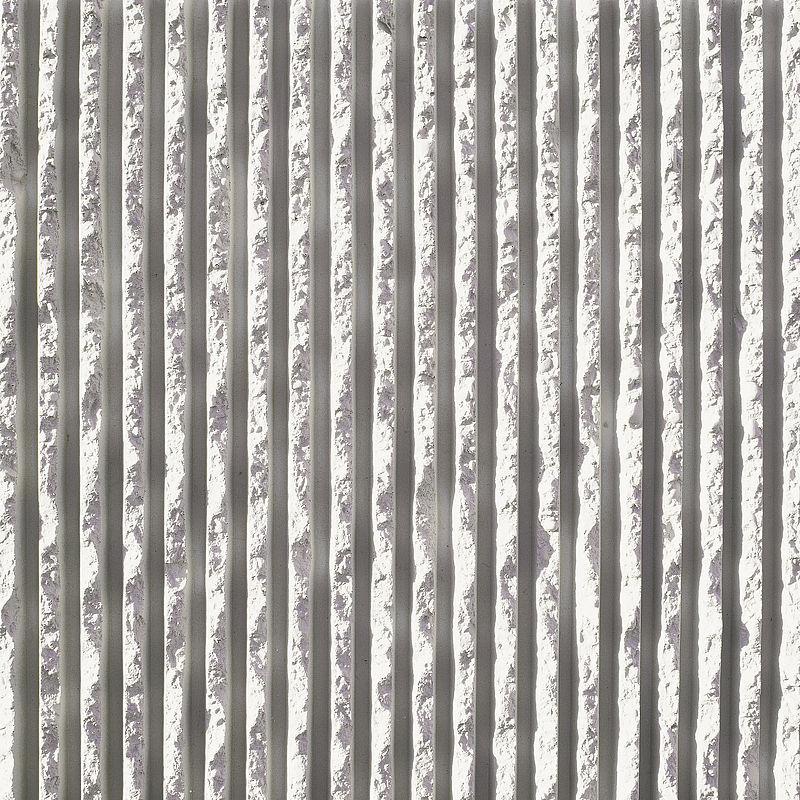 1-21 Çubuk Dalga Desenli Prekast Beton