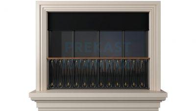 prekast cephe paneli sade tasarım