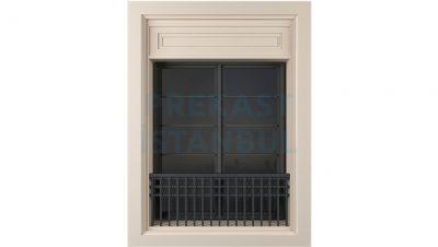 prekast panel sade tasarım fransız balkon