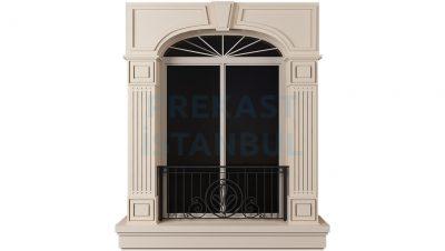 tek pencere balkonlu prekast