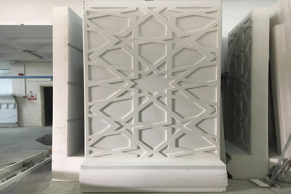 dekoratif prekast panel, söve, kolon, sütun