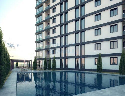 Apartman Prekast 3D Tasarım C016