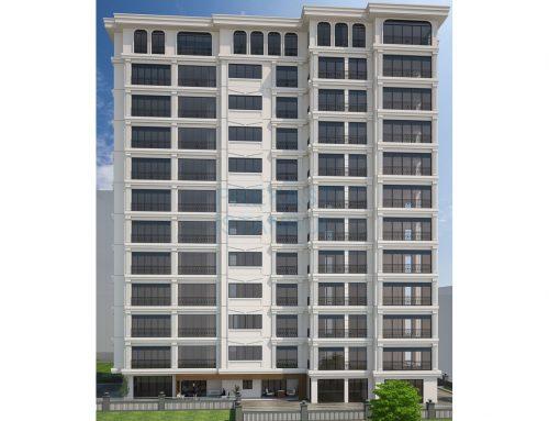 Apartman Prekast 3D Tasarım C019