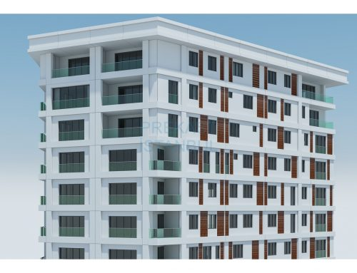 Apartman Prekast 3D Tasarım C020